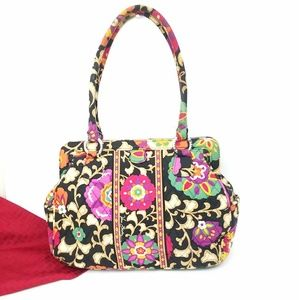 Vera Bradley Suzani Floral Shoulder Bag